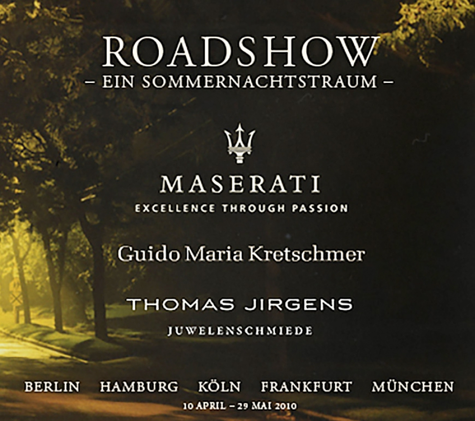 MASERATI ROADSHOW BERLIN