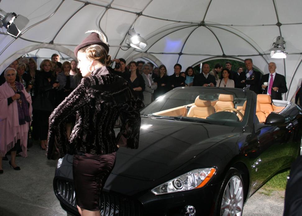 Event der Juwelenschmiede Maserati Roadshow THOMAS JIRGENS Schmuckdesign Schmuckkreationen Edelsteinverarbeitung Goldschmiede Juwelier aus München