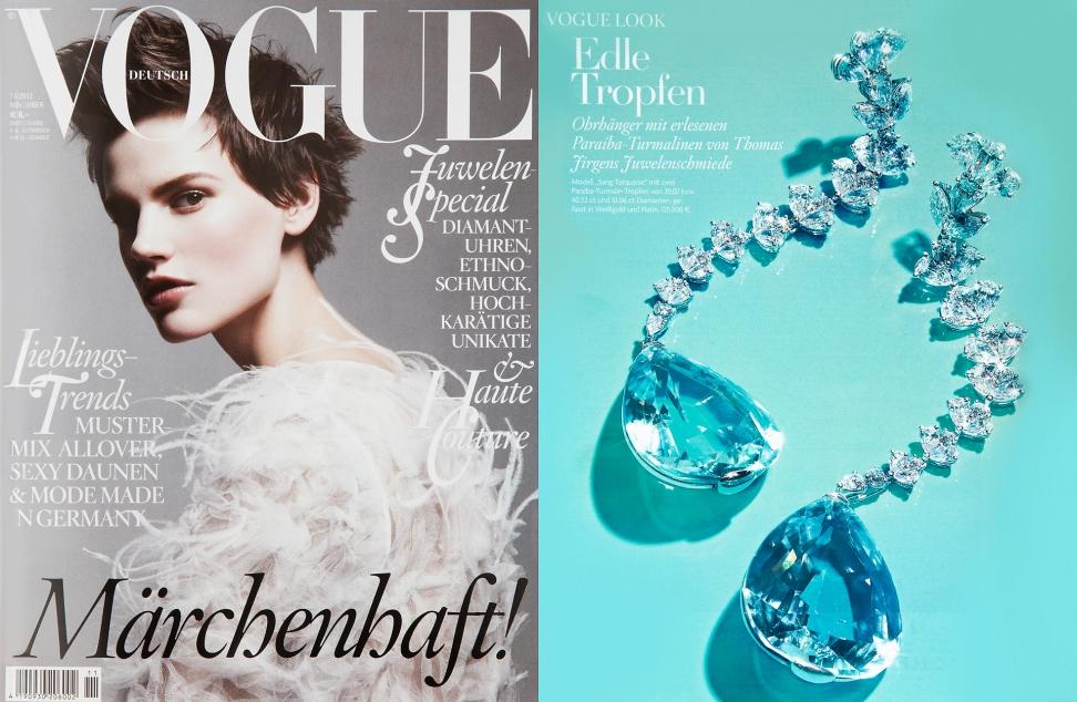 Vogue November 2012