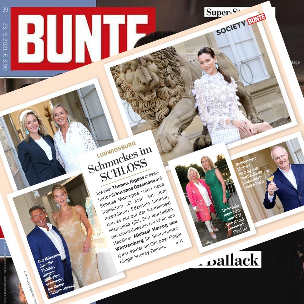 Bunte September 2021 - Schloss Monrepos