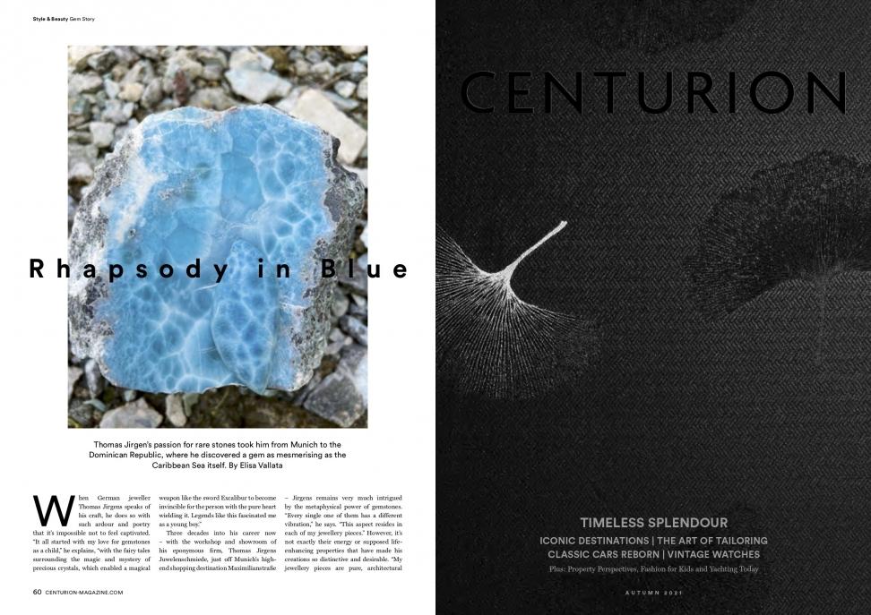Centurion Magazin September 2021 - Larimar