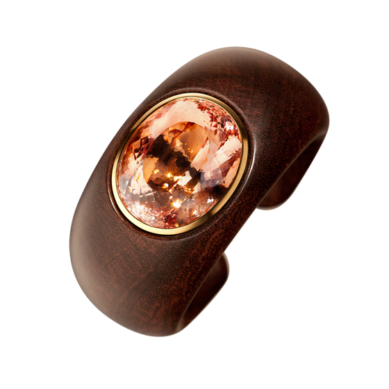 SOUTH AMERICA Bangle South America snakewood snakewood bracelet snakewood bracelet morganite 130.49 carat morganite bracelet morganite bracelet 750/000 rose gold rose gold bracelet morganite gold bracelet bangles bracelets